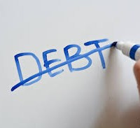 Debts - Get rid of them to see your credit score rising